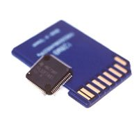 Microcontrollers et Memory card
